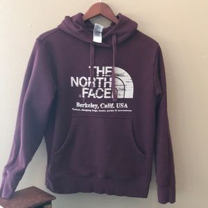 The North Face size  small hoodie sweatshirt